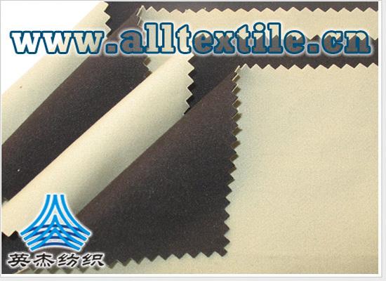 防水全棉布+TPU+摇粒绒复合面料
